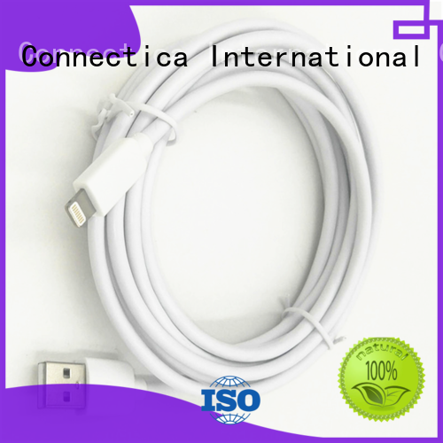 connector datacharging assured charging cable Connectica charger Brand company