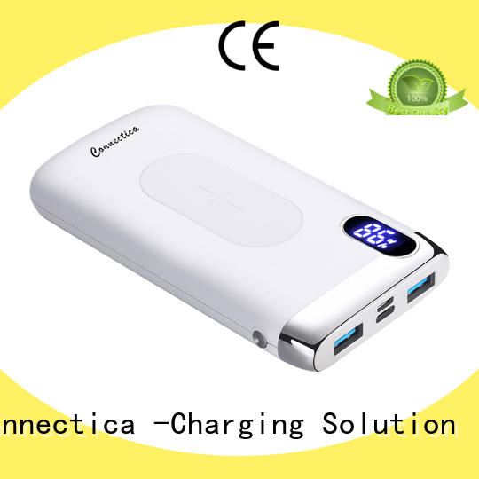 Connectica cpc external battery charger with rfid blocker for mobile phone