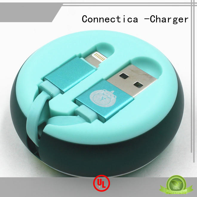 MFi Retractable Data / Charging Cable