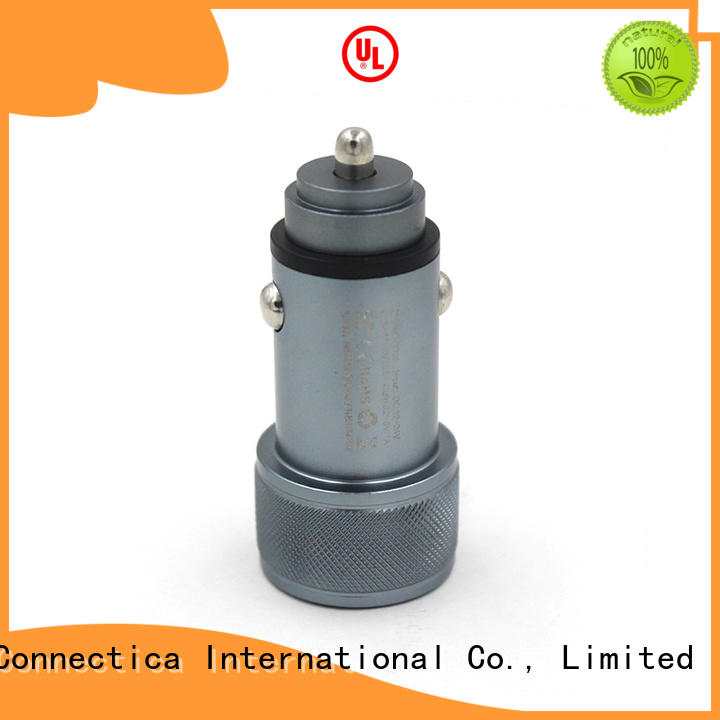 incar soft Connectica charger Brand best car charger