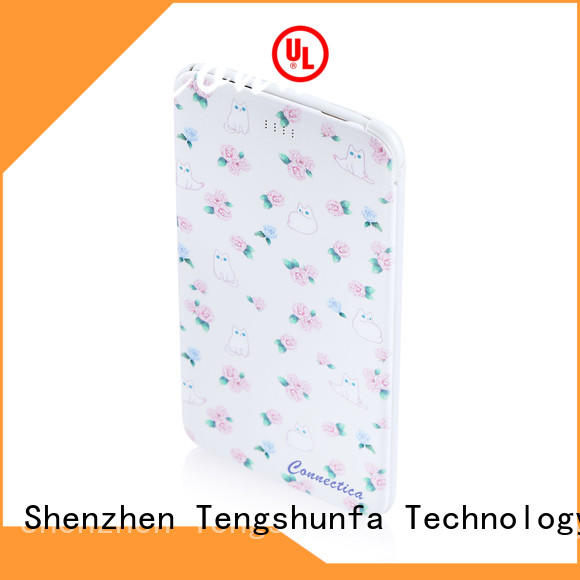 Connectica high quality power bank 10000 company for abc and pc flame retardant