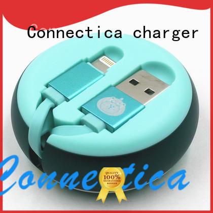 Connectica charger lightning type c usb cable pvc for android phone