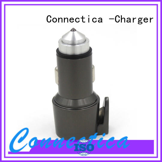 Connectica charger car dual usb car charger compatibility car