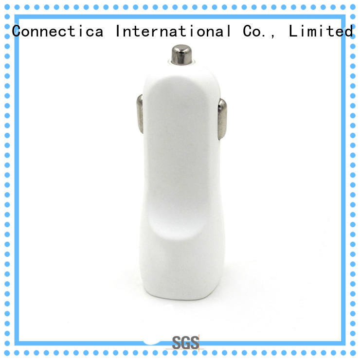 ccc ipad car charger manufacturer for car Connectica charger