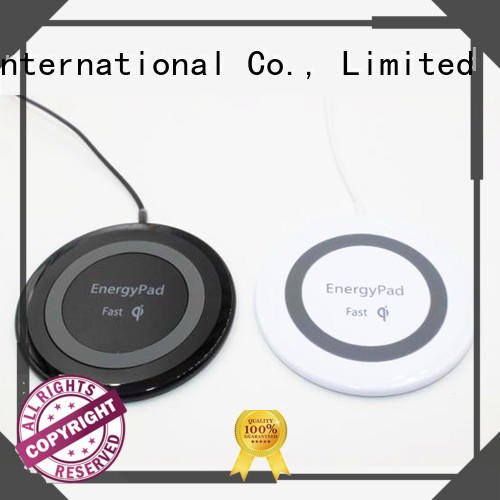 oval cordless phone chargers with customize face plate and shape for sale Connectica charger