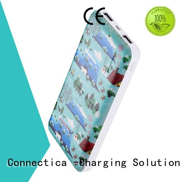 Connectica high quality all power bank price factory for abc and pc flame retardant