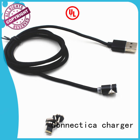 Connectica charger Brand datacharging tpe connector charging cable manufacture
