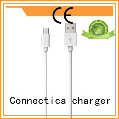 Connectica charger data type c usb cable with magnetic lightning for sale