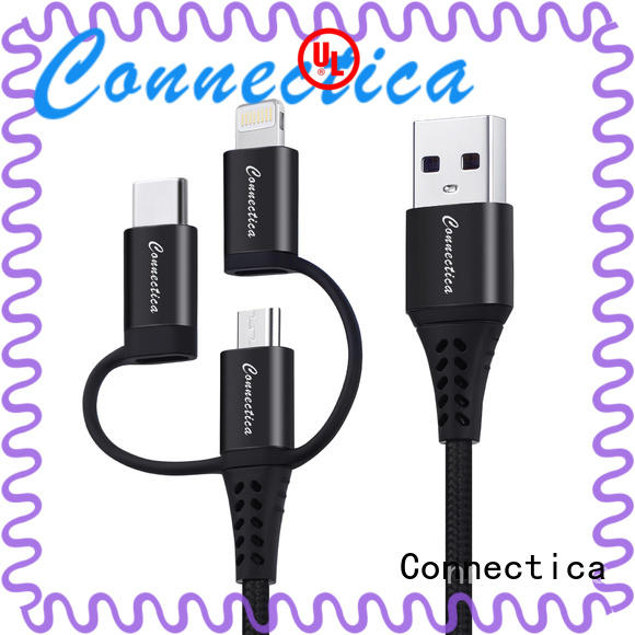 Connectica aluminum cable iphone original with magnetic lightning for android phone