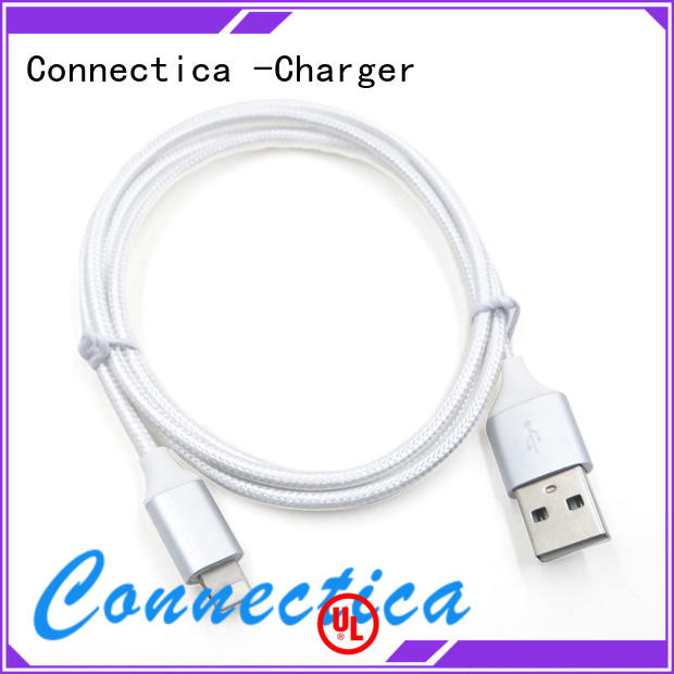 certified tpepvc certification Connectica charger Brand charging cable