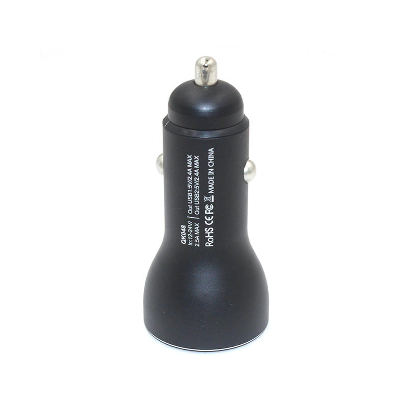 Design Dual Car Charger Metal CCC-0009