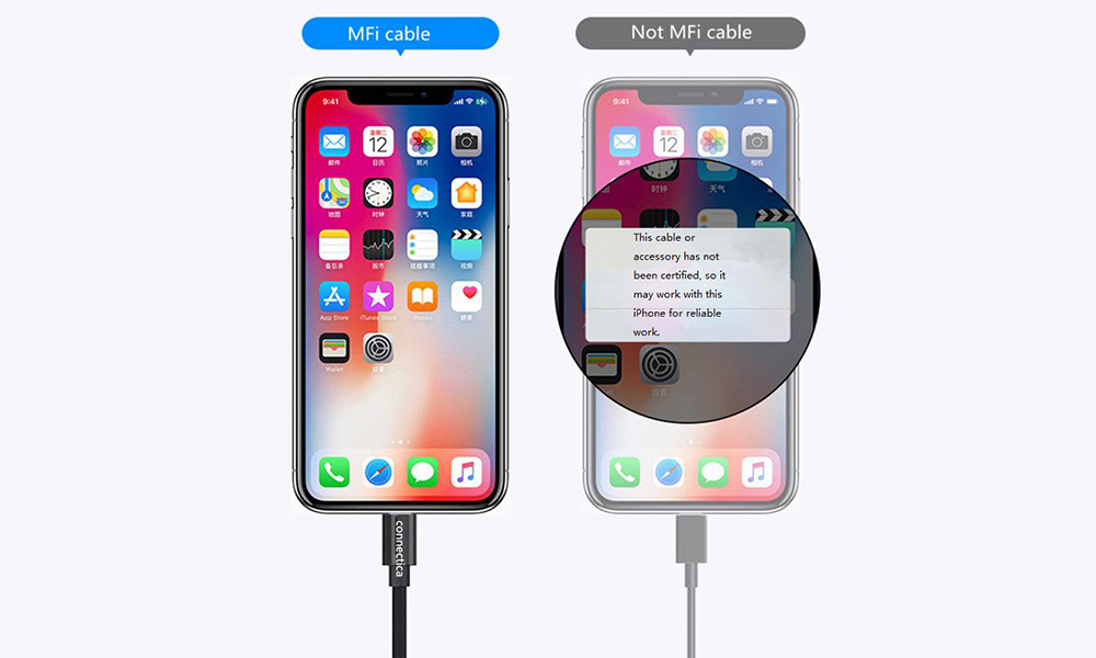 Connectica charging aluminum micro usb charging cable with a usb Micro connector for android phone-4