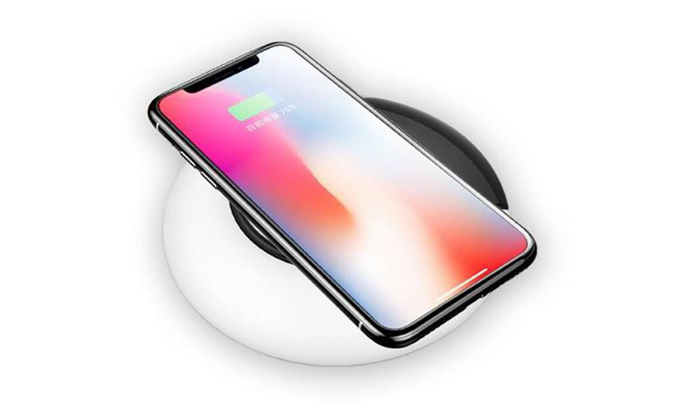 pad shape charging pad holder Connectica charger Brand company