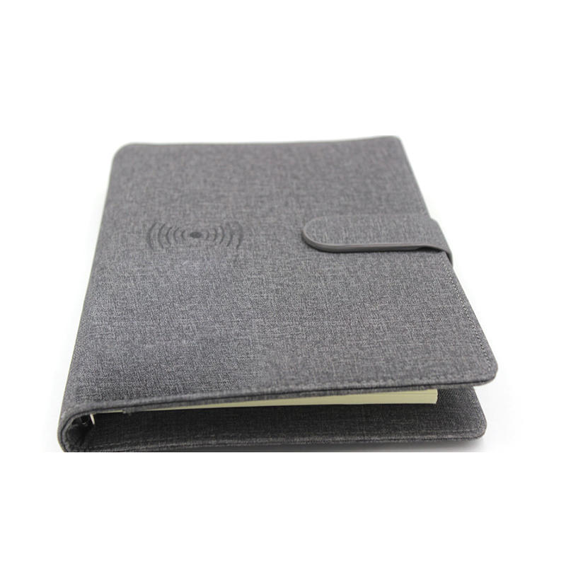 Notepad Portable Charger With Wireless Power Bank Charging CPC-0004