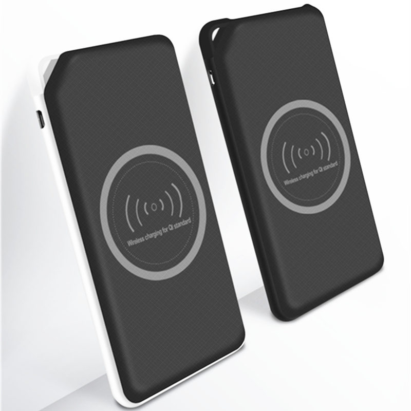 Connectica charger cpc portable wireless charger power bank with usb type c cable for working