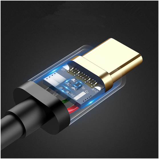 Custom tpepvc tpe charging cable Connectica charger certified