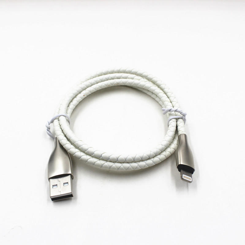 MFi USB-A Port To Lightning Connector Data / Charging Type C Usb Cable