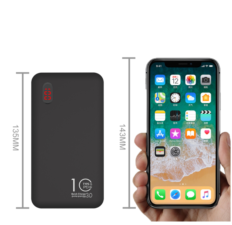 Connectica charger Brand connectors charger portable power bank wallet factory