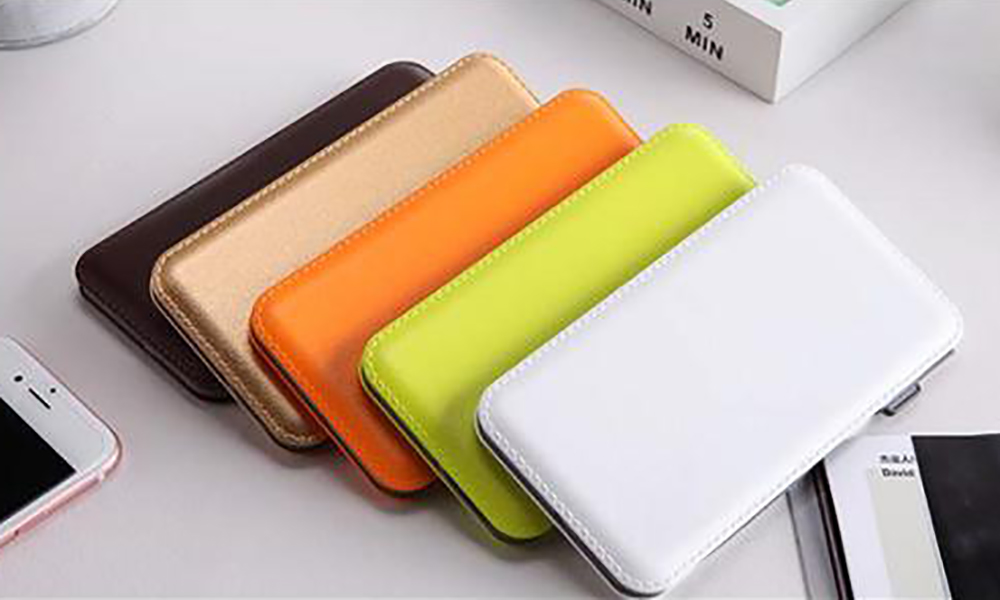 Connectica charging high quality slim power bank with wireless charging for abc and pc flame retardant-4