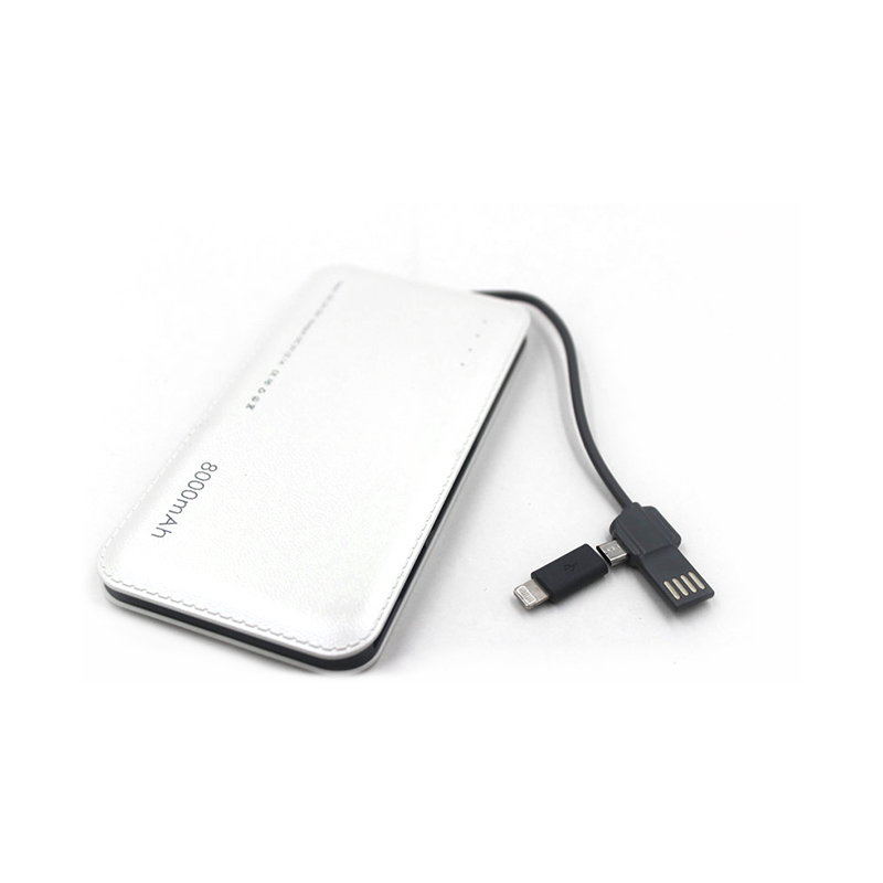 Connectica charging high quality slim power bank with wireless charging for abc and pc flame retardant-6