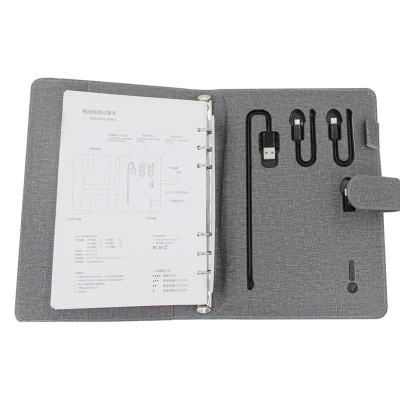housing ipad power bank with charging dock for working-7