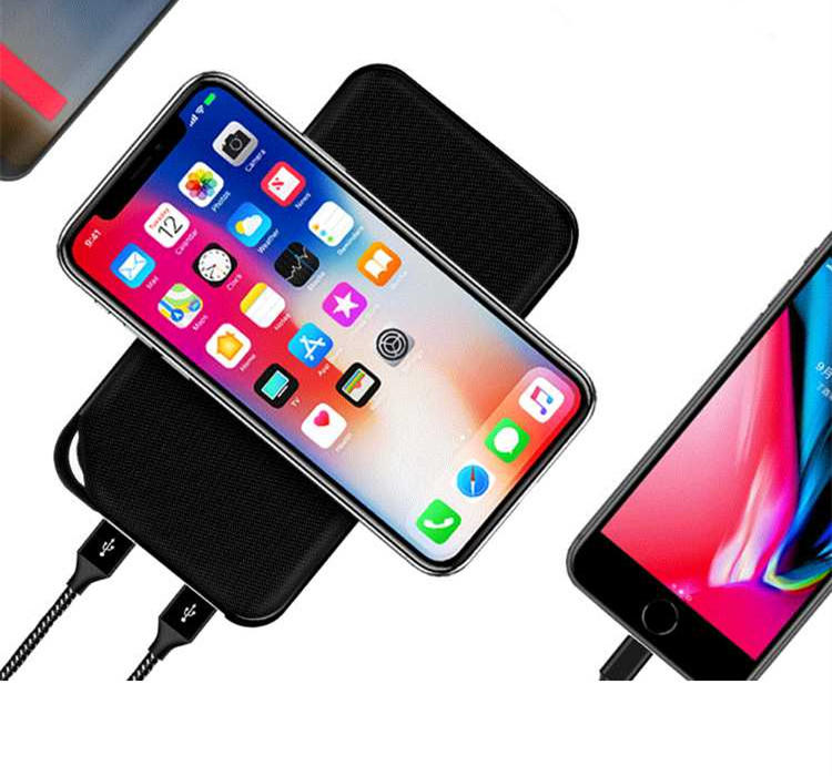 hot sale phone power bank with wireless charging for working Connectica charger