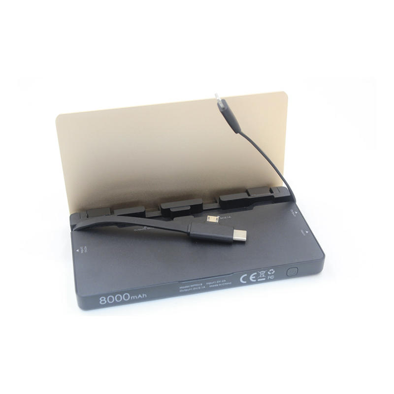 Wholesale notepad power bank manufacturer Connectica charger Brand