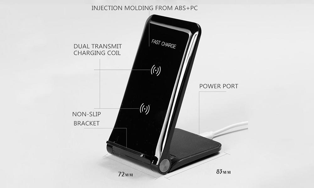 wrap wireless charging mat mousepad for pc Connectica charger
