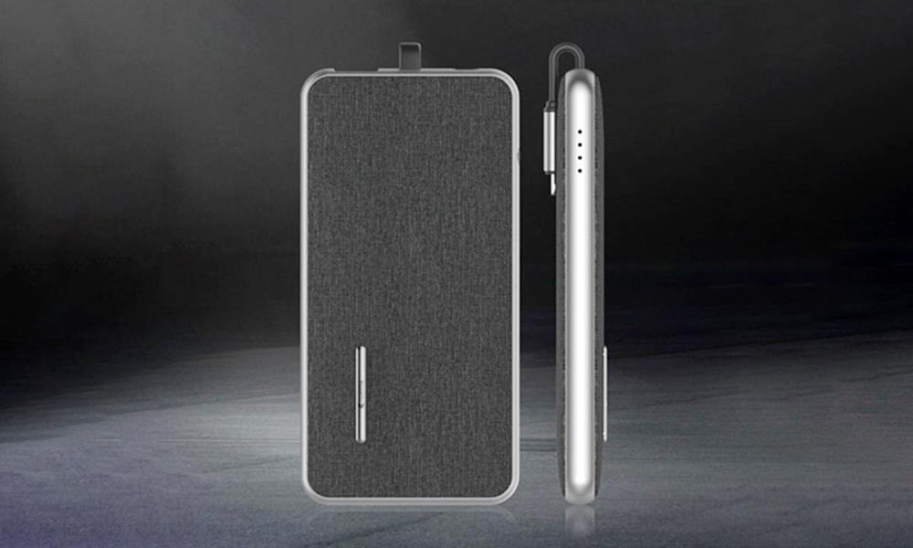 ultra wireless power bank mfi with charging dock for abc and pc flame retardant