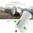 flame resistant dual usb car charger with oem odm service for car