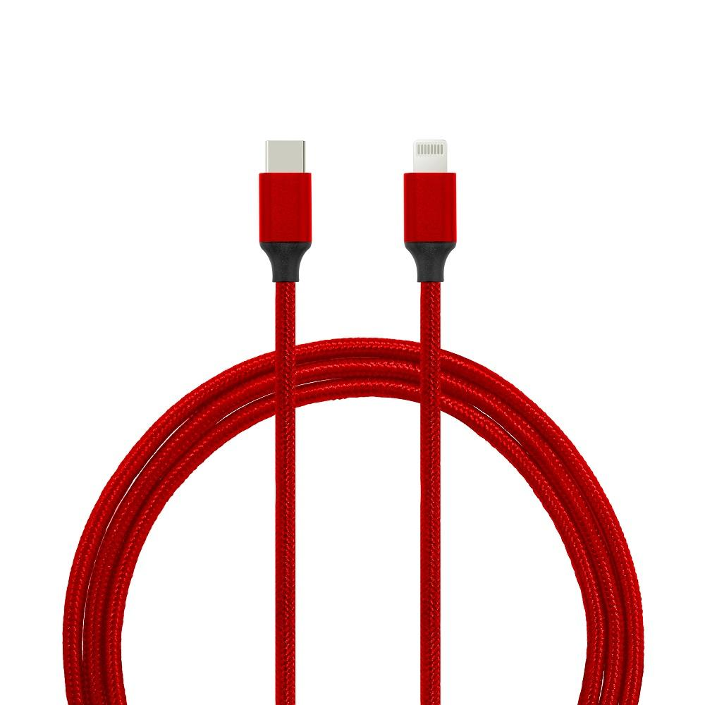 USB Type-C to Lightning Connector Data/Charging Braided or PVC/PET Cable