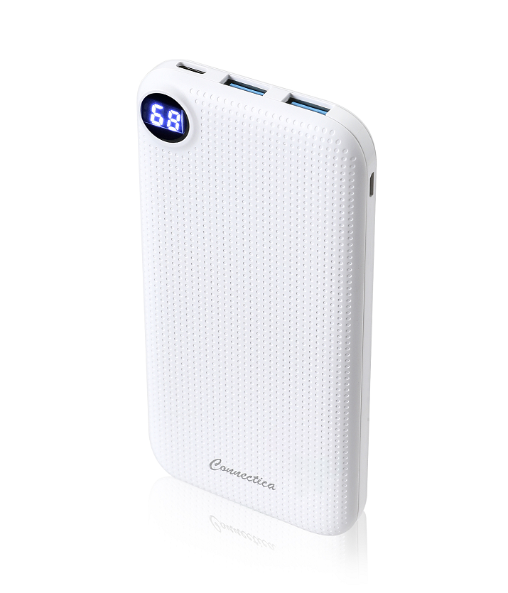 Newly Arrival 10000mAh Cell Phone Power Bank With 2USB