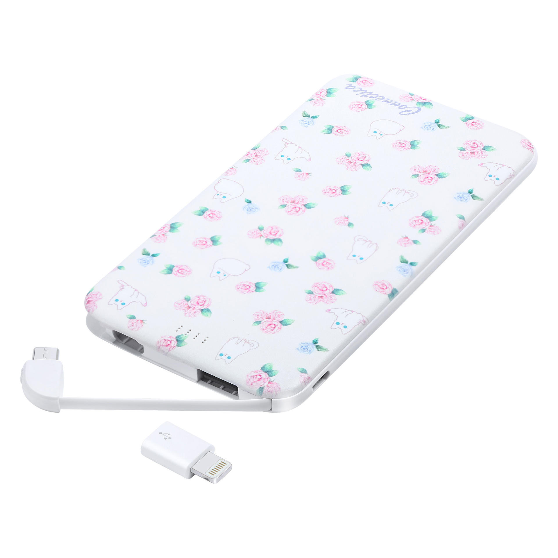 5000mAh Mini Ultra Slim Kawaii Portable Charger