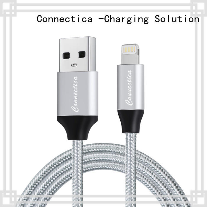 Connectica pet usb to lightning cable for business for the game