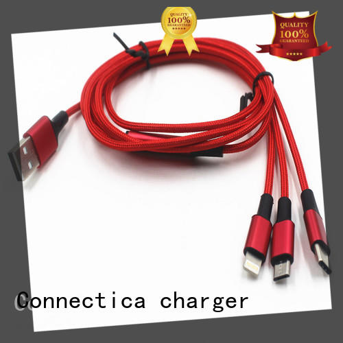 Connectica charger right angle cable usb micro usb usb a port to usb type c for android phone