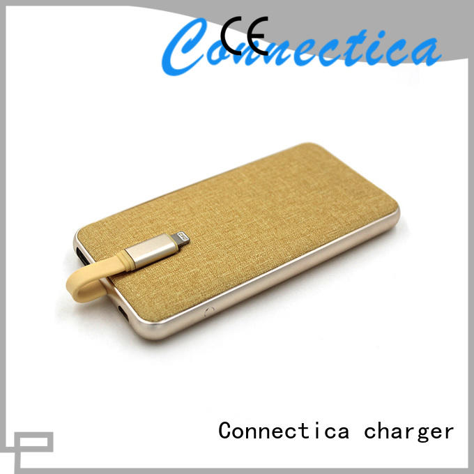 Connectica charger Brand pad charging notepad power bank manufacturer
