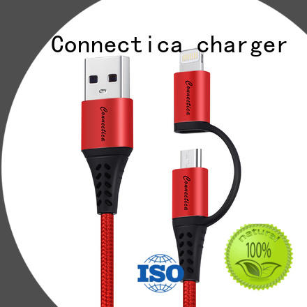 Connectica charger retractable mfi usb cable conn for sale