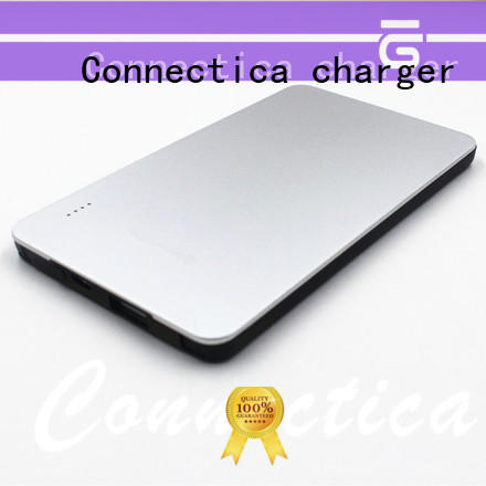 Connectica charger suede pad Power Bank Wholesale cpc for working
