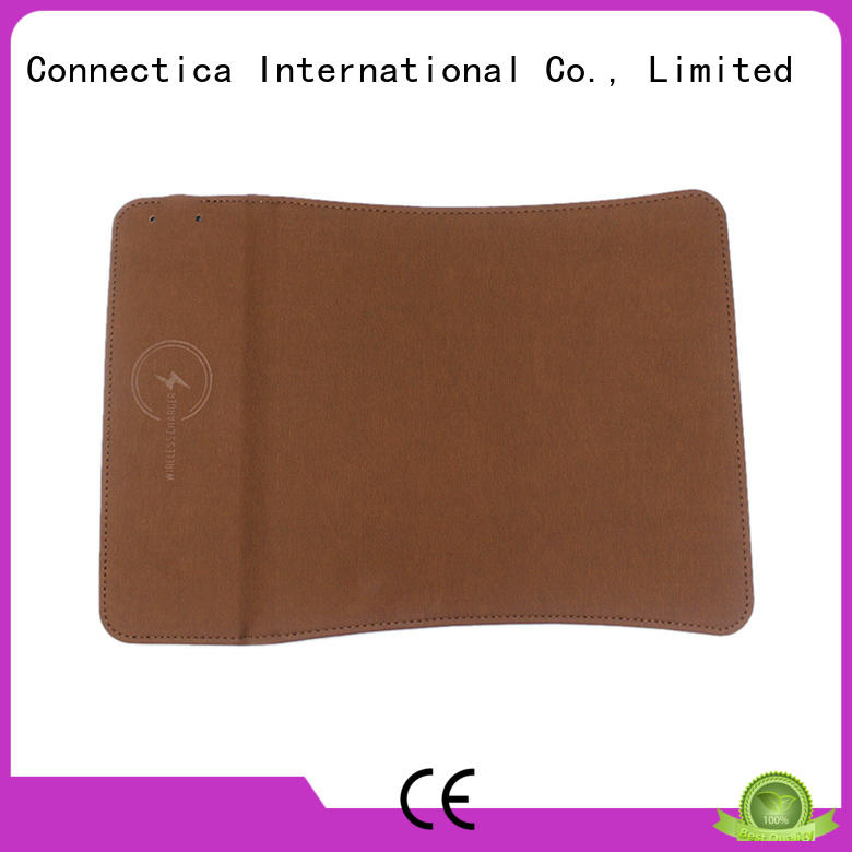 Connectica charger Brand mousepad pad charge portable wireless charger