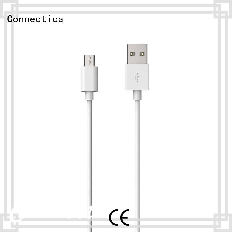 Connectica pvc with a usb Micro connector for android phone