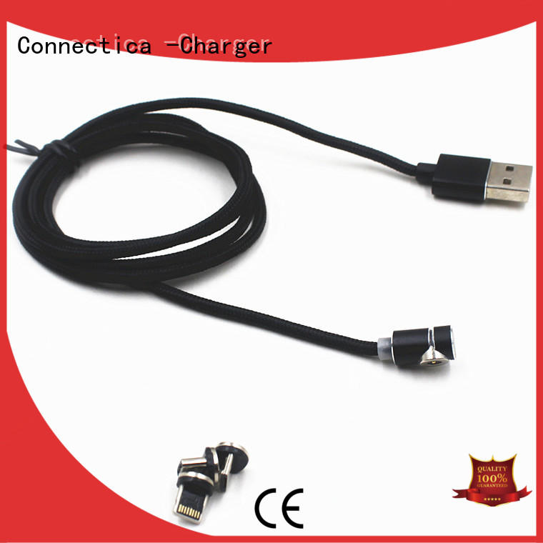 Connectica charger nylon mfi lightning cable mfi for the game