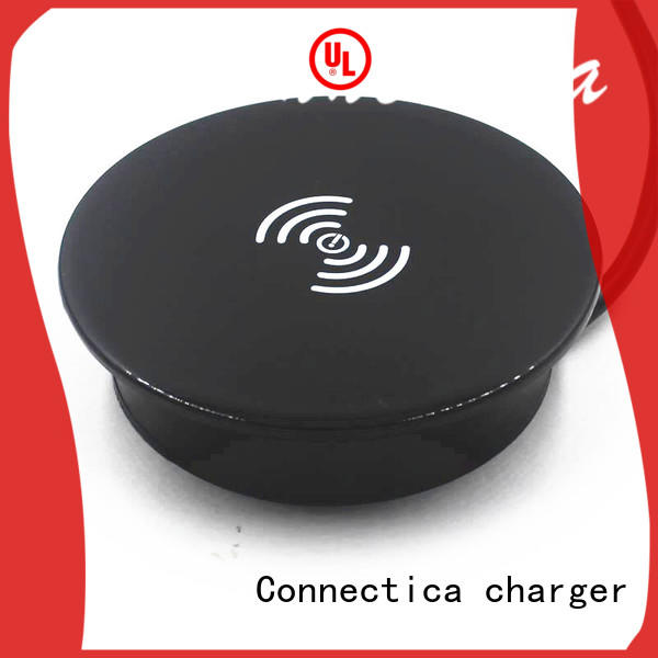 Custom pcabs pu charging pad Connectica charger qi