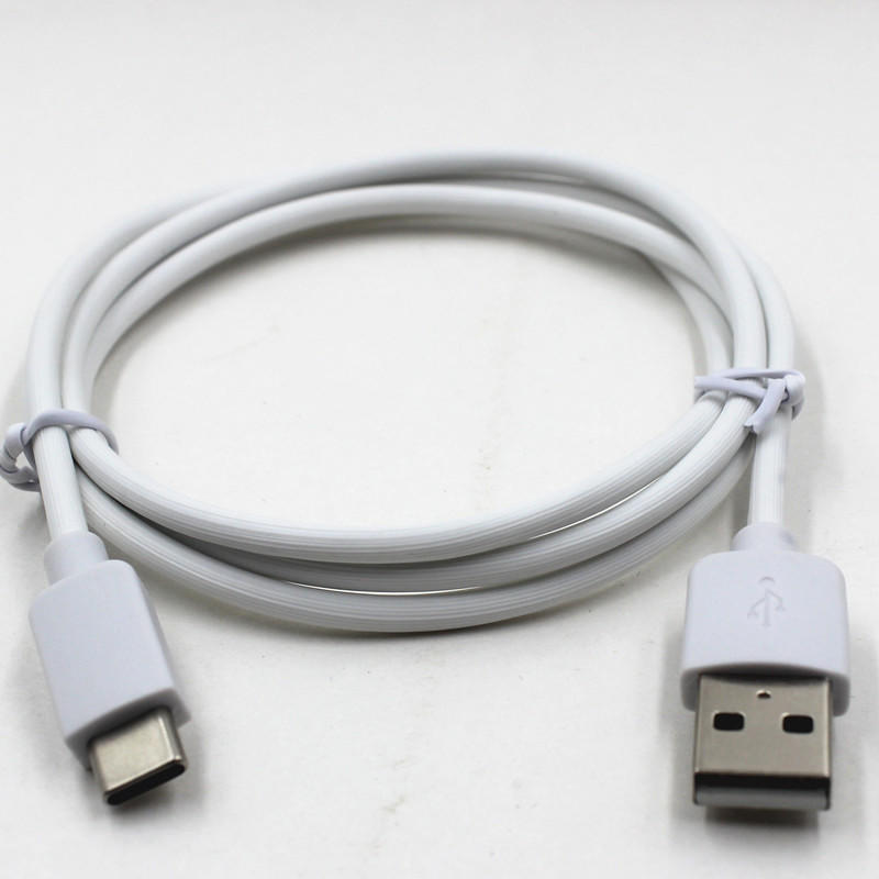 USB-A Port to USB Type C Connector  Data/Charging PVC/PET & Braided Cable