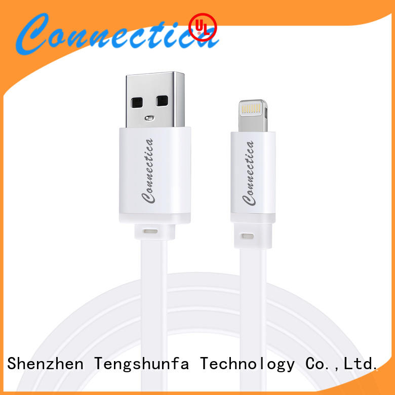 Connectica pet usb to lightning cable manufacturers for the game