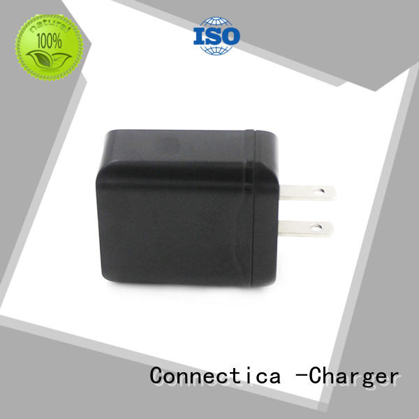 Quality Connectica charger Brand traveler cum wall charger