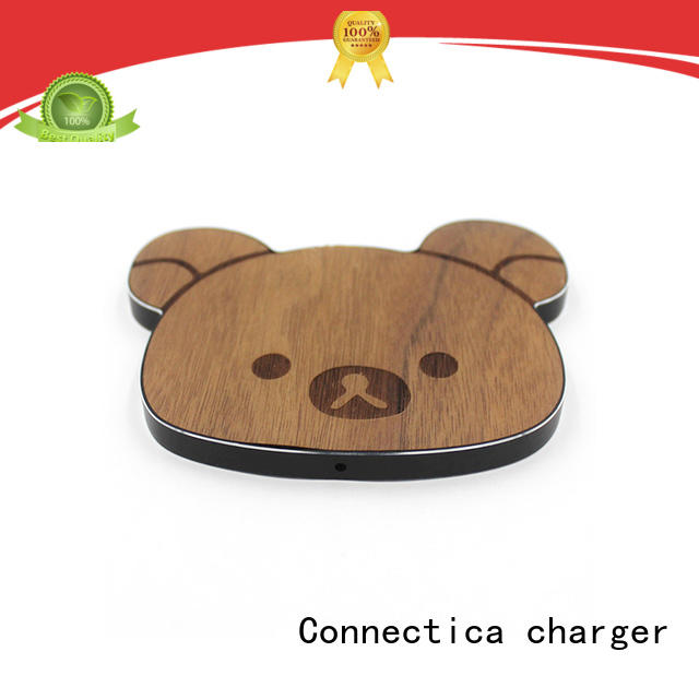 mini customize charging pad Connectica charger Brand