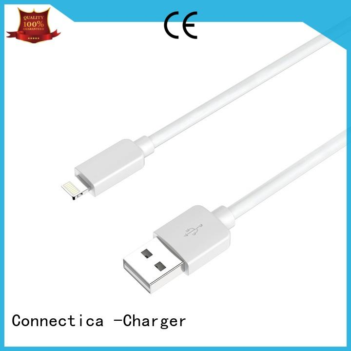 mfi usb cable pvctpe certified connector Connectica charger Brand