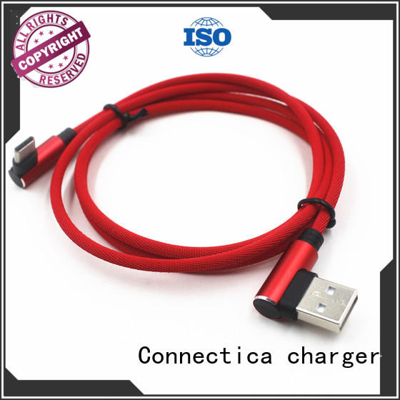 Connectica charger pet oem charging cable with a usb Micro connector for sale