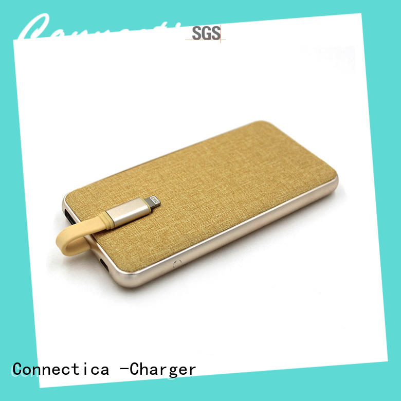 Connectica charger notepad wireless power bank cpc for working