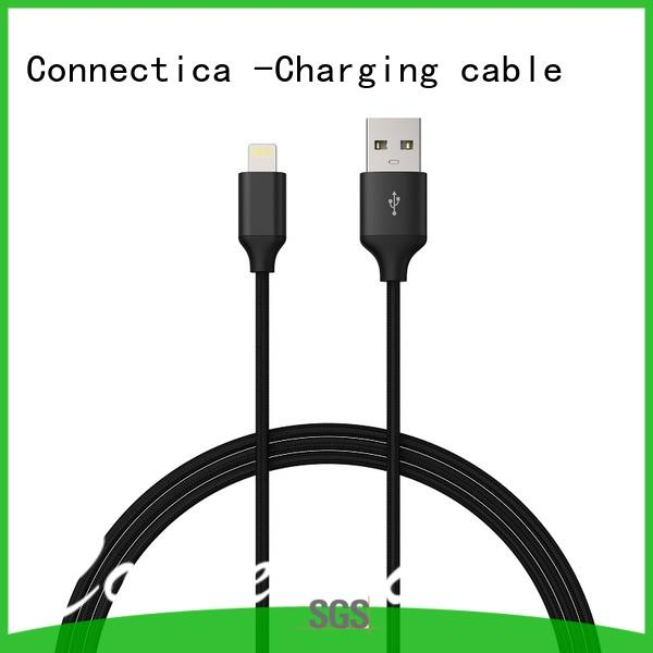 Connectica charging aluminum micro usb charging cable with a usb Micro connector for android phone